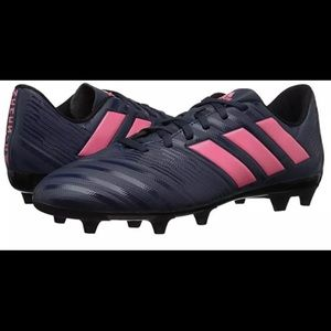 Adidas Women Nemeziz Soccer Cleats Blue Pink 9.5sz